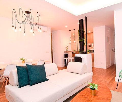 Reforma de vivienda para inversores en Calle Donoso Cortés en Madrid